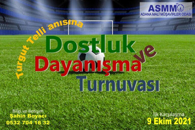 Odamız Futbol turnuvası başlıyor…